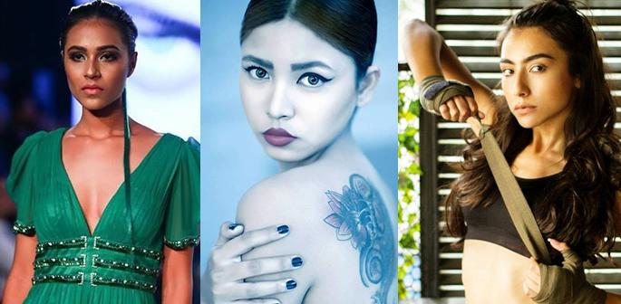 Riya, Eva and Shweta