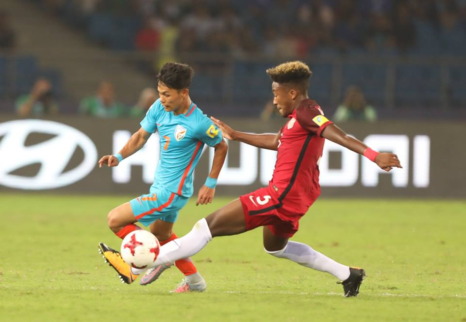 India struggled to keep the ball for significant periods of time in their FIFA Under-17 World Cup matches