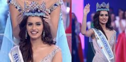 India's Manushi Chhillar is crowned Miss World 2017