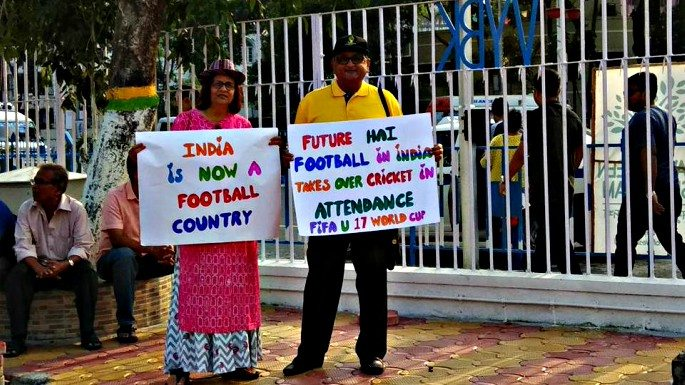 The Indian Government are taking stept to make football become the 'sport of choice' in the country