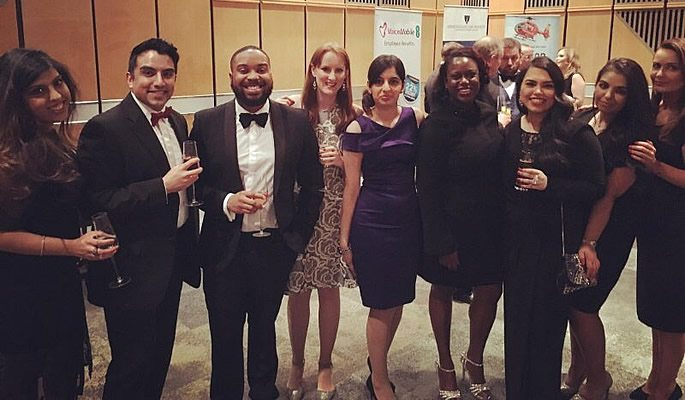 Group photo at Legal Awards