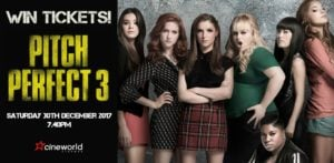 Win Tickets to see Pitch Perfect 3