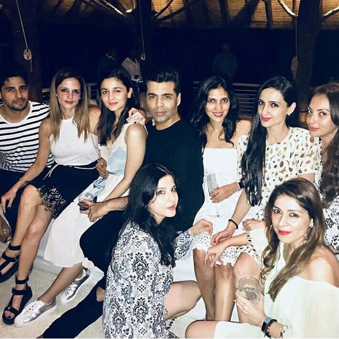 Group image of Bollywood stars