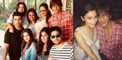 SRK parties on 52nd Birthday with Friends and Family