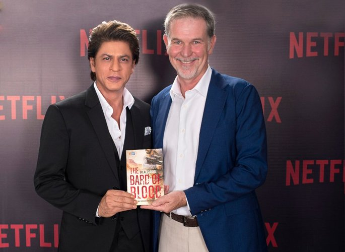 SRK with Reed Hastings