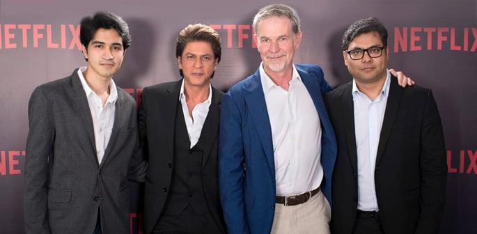 Shahrukh with Netflix and Bilal Siddiqi