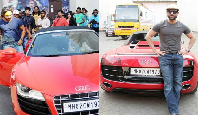 Bollywood Stars and their Cars