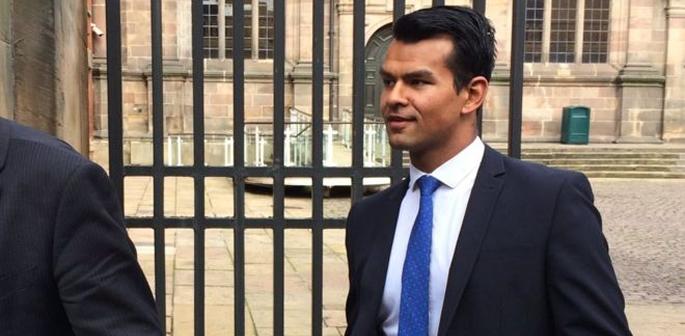 Shiv leaving trial