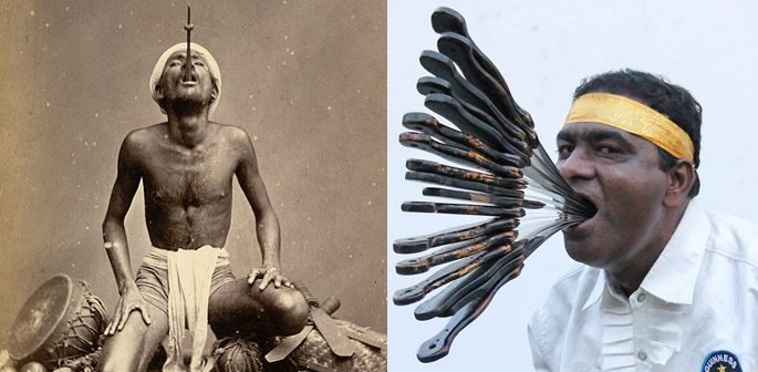 Indian Sword Swallowers
