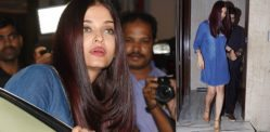 Aishwarya at House Party in lovely Blue Denim Dress