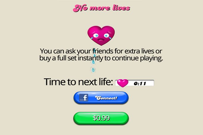 Screenshot of Candy Crush