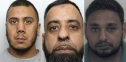 तीन ब्रिटिश एशियाई पुरुष विले चाइल्ड सेक्स एब्यूज के लिए जेल गए