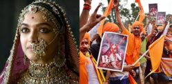 Deepika Padukone threatened by Hindu Groups for Padmavati