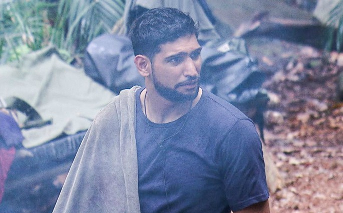 Amir Khan is shocked to be named as the jungle cook