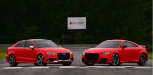 Audi RS 3 and Audi TT RS