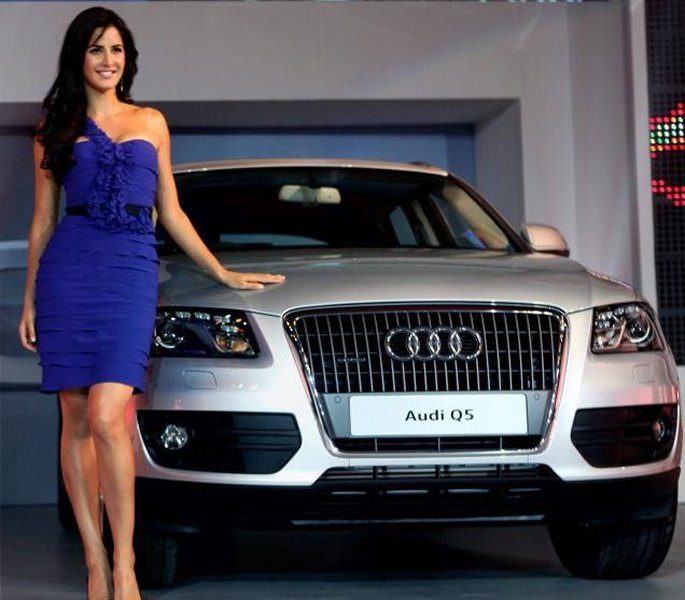 Katrina Kaif at an Audi showroom