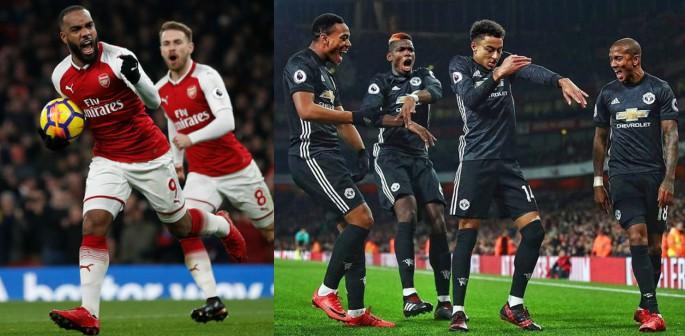DESI Fans: Arsenal 1-3 Man United December 2017