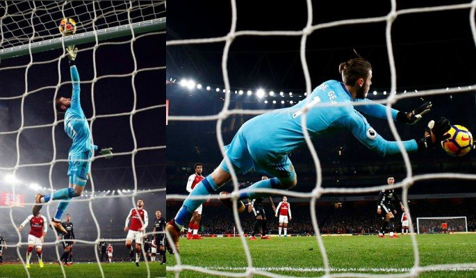 David De Gea was the difference between Manchester United and Arsenal