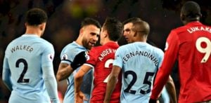 DESI Fans: Man United 1-2 Man City December 2017