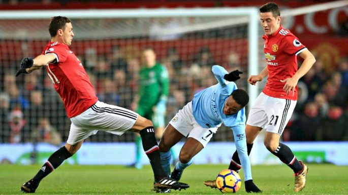 Ander Herrera and Nemanja Matic struggled in a United midfield without Paul Pogba