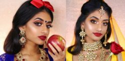 Makeup Artist creates Desi Disney Princess Looks