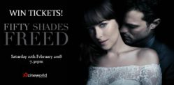 Win Tickets to see Fifty Shades Freed