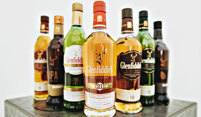 Glenfiddich is one of our Top 5 alcoholic drinks to enjoy during winter