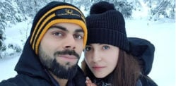Anushka Sharma and Virat Kohli share first Honeymoon Selfie