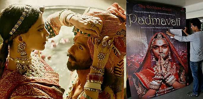 Padmavati screenshot and film poster