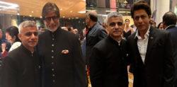Mayor of London Sadiq Khan meets Bollywood Stars in India