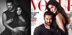 Salman Khan and Katrina Kaif sizzle on Vogue India Cover
