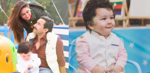 Taimur and his parents