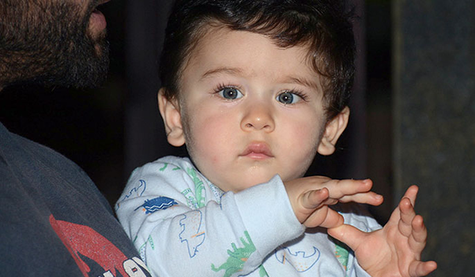 Adorable Taimur