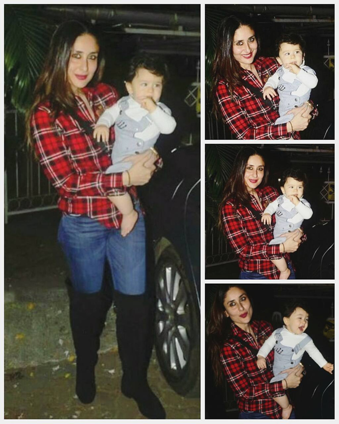 Kareena carrying Taimur