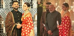 Virat and Anushka have a Grand Reception in Delhi