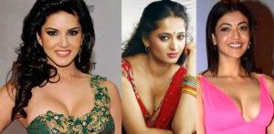 Sunny, Anushka and Kajal