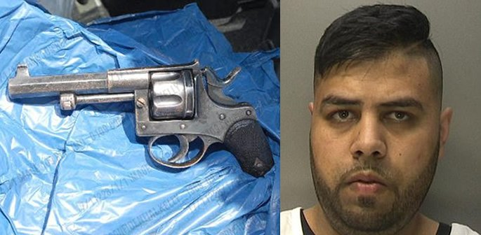Gun recovered and Mohammed Asif