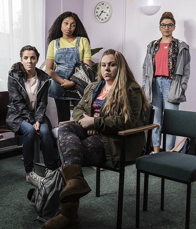 Cast of BBC drama