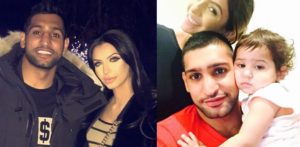 Amir Khan with family