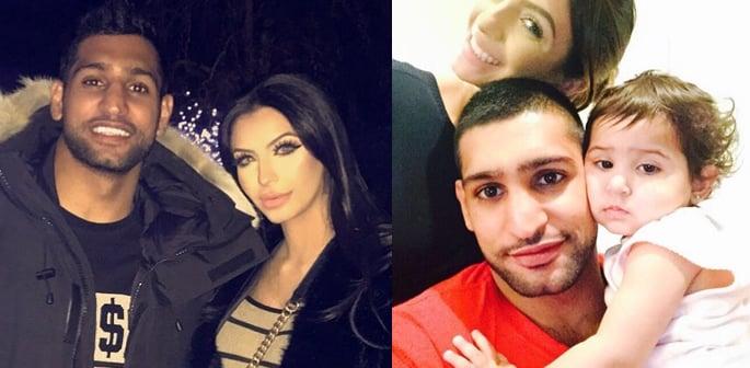Amir Khan with family