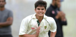 Arjun Tendulkar not stressed being Sachin's Son