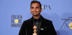 Aziz Ansari wins TV Comedy 'Best Actor' at Golden Globes 2018