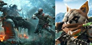God of War and Biomutant