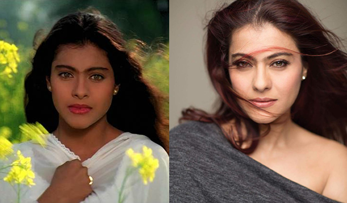Kajol in DDLJ and Kajol now
