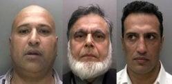 تین برطانوی ایشین گینگ ممبروں کو 13M Back کی ادائیگی کا حکم دیا گیا