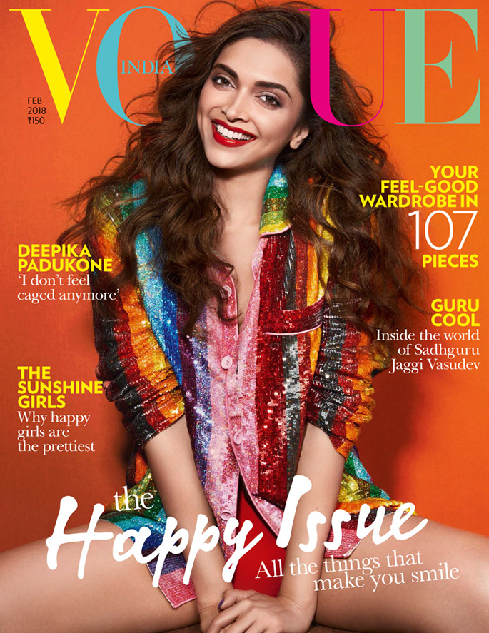 February cover of Vogue India