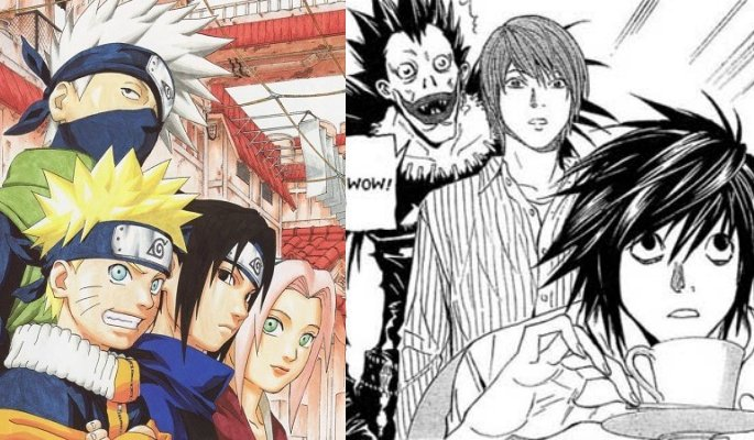 Naruto and Death Note