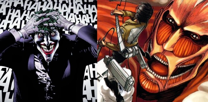 The Killing Joke and Attack on Titan