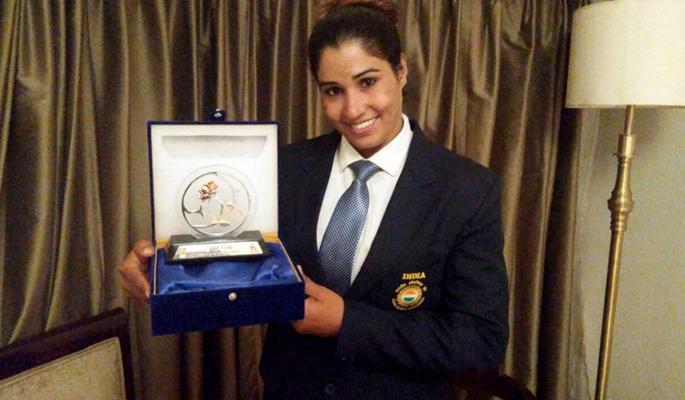 Kavita honoured as 'First Ladies'