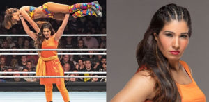 Kavita in the Mae Young Classic